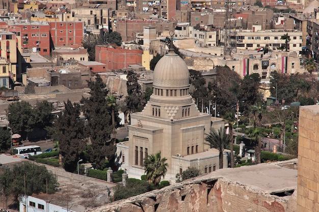 Вид на центр каира египет