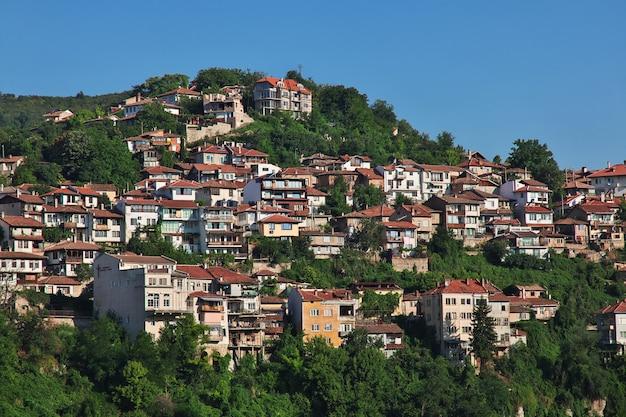 ブルガリアのヴェリコタルノヴォの眺め