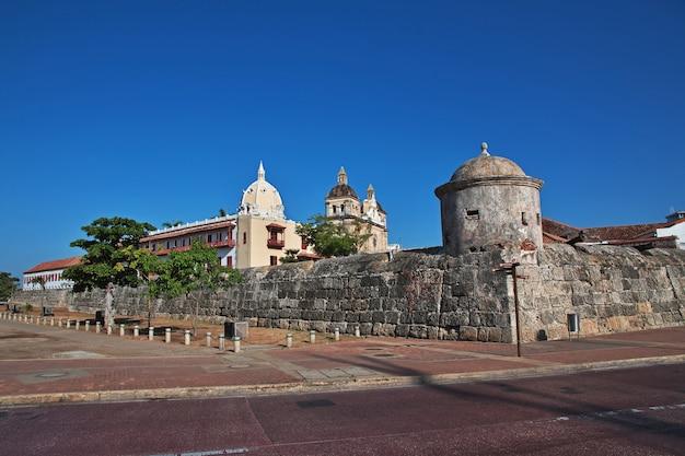 カルタヘナコロンビアのヴィンテージ要塞