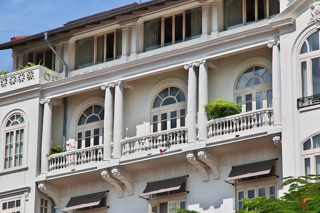 Винтажный отель в каско вьехо в городе панама, центральная америка