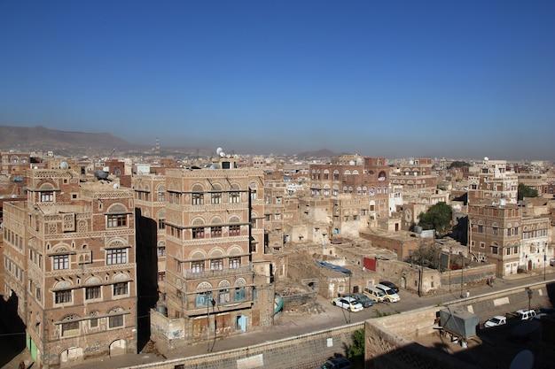 Старинный дом в сане, йемен