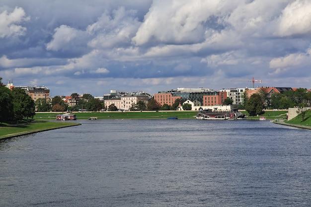 폴란드 크라쿠프의 비스툴라 강