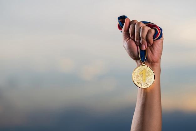 승자와 성공적인 개념