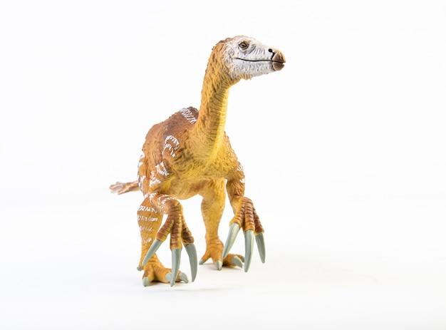 テリジノサウルス、分離された恐竜