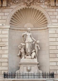 Thetis statue , trieste