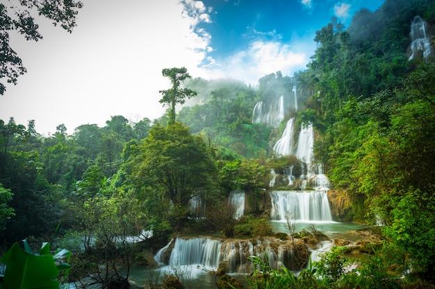 Водопад тхи ло су или ти лор сью в таиланде
