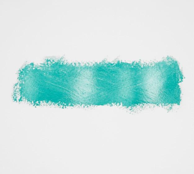 Thick blue composition paint brush