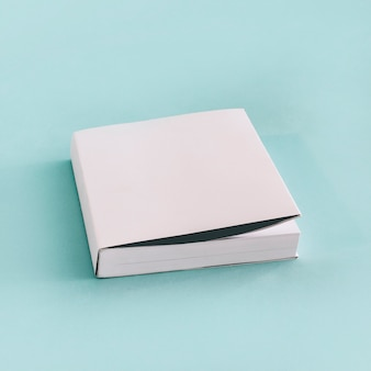 Thick book in white wrapper