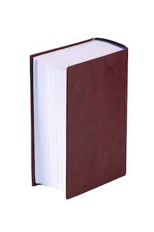 두꺼운 빨간 책은 흰색 절연입니다. 교육