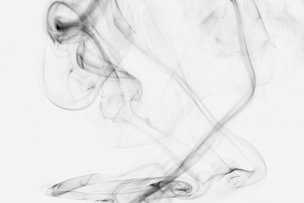 Thin gray smoke