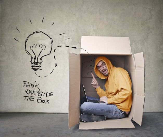 Think Outside Box Images | Free Vectors, Stock Photos & PSD