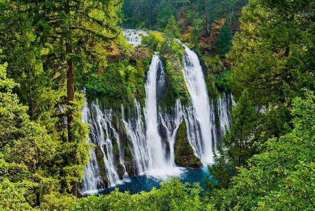 Это красивый водопад речной пейзаж картина