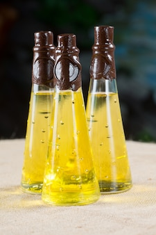 Three bottles of cedar oil