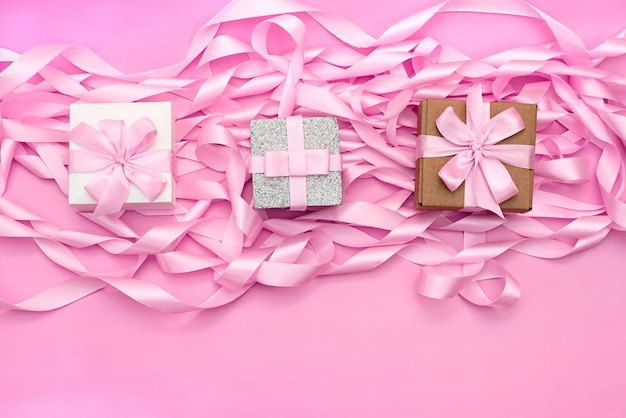 Three box with gift