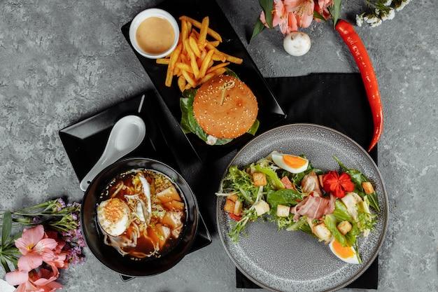 Бизнес-ланч из трех блюд