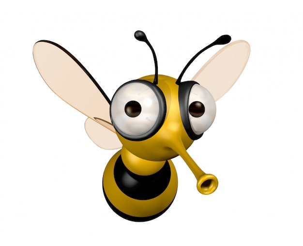 Three dimensional funny bee