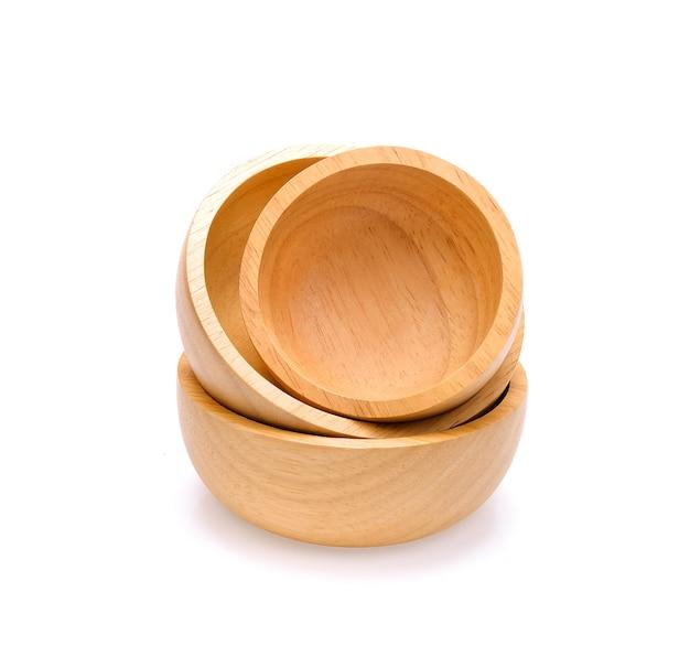 나무 그릇 3 개