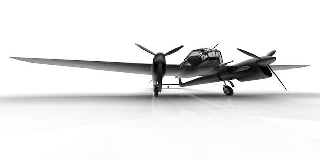제2차 세계 대전의 폭격기의 3차원 모델