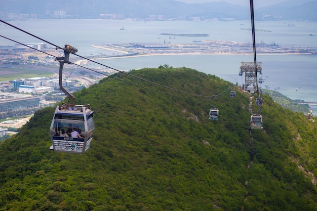Tian tan buddha、big budda、香港のpo lin monasteryにある巨大なtian tan buddha。