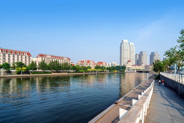 Tianjin cityscape, china