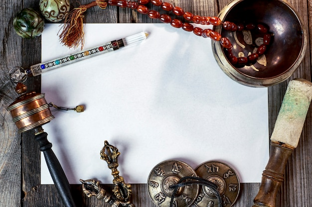Tibetan musical instruments for meditation
