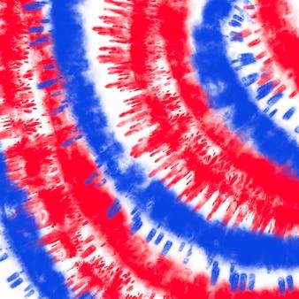 扎染美国国旗底色红蓝