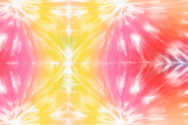 Tie dye background with colorful watercolor paint
