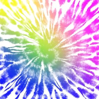 Красочный фон tie dye. акварельная краска фон
