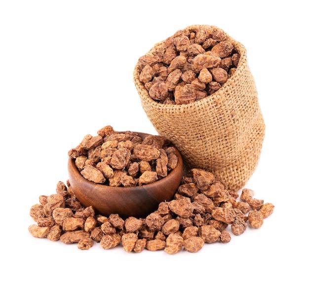 Tigernuts 절연 chufa 견과류 또는 호랑이 견과류