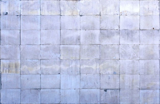 Tile of polished gray limestone as finishing material
