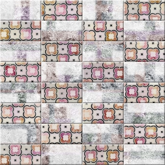 Tile with patterns and texture of natural stone. decorative element for kitchen or bathroom design. background texture