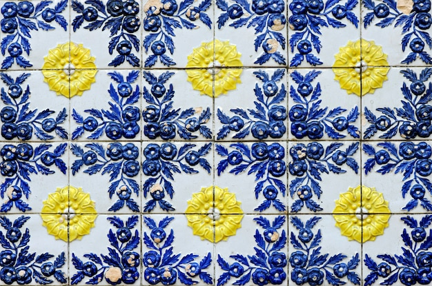 Tiled in high relief of centenary house