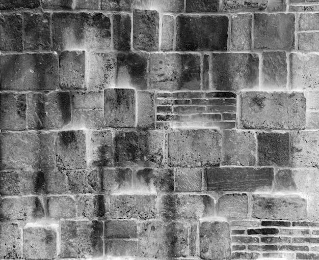 タイル張りの石