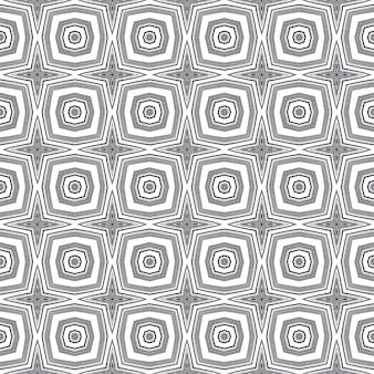 Tiled watercolor pattern. black symmetrical kaleidoscope background. textile ready creative print, swimwear fabric, wallpaper, wrapping. hand painted tiled watercolor seamless.