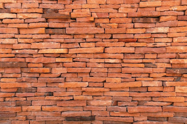 Tiles brick wall background. texture and material concept. structure theme