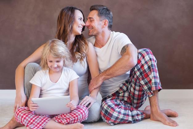 家族と過ごす時間はとても貴重です