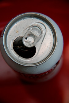 Tin can, close-up
