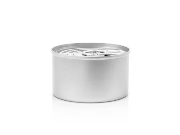 Tin can for conserve product isolated