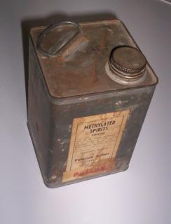 Tin can methylated