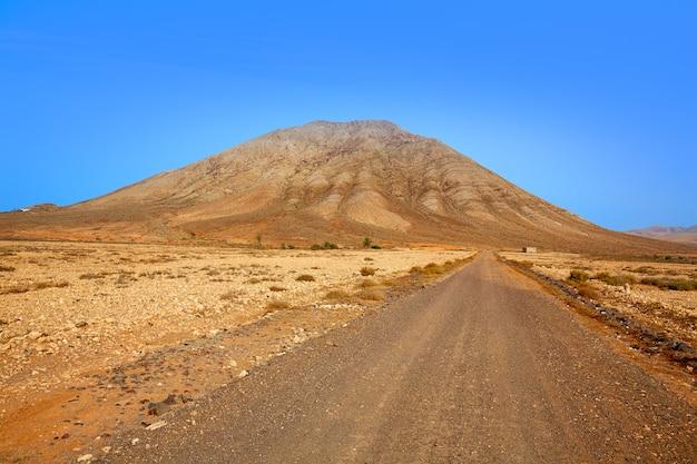 Tindaya mountain fuerteventura canary islands