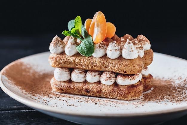 Tiramisu dessert cake