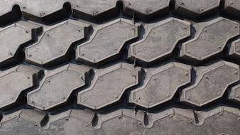 背景、輸送コンセプトのタイヤパターン。