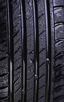 Tire texture background