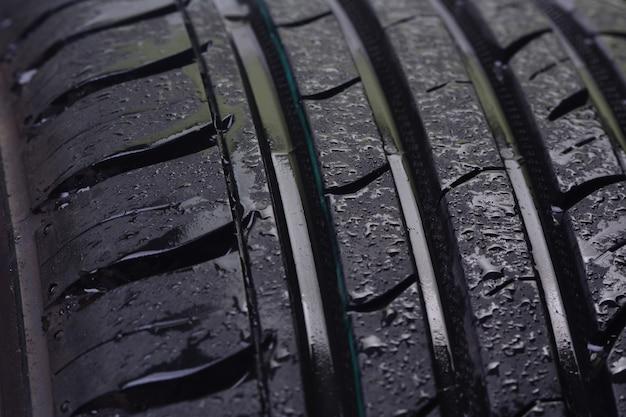 타이어 질감