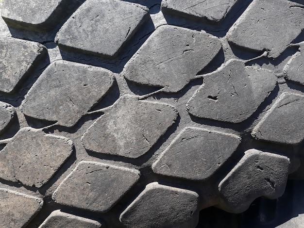 Tire tread pattern background.