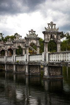 Tirta gangga water palace at bali, indonesia