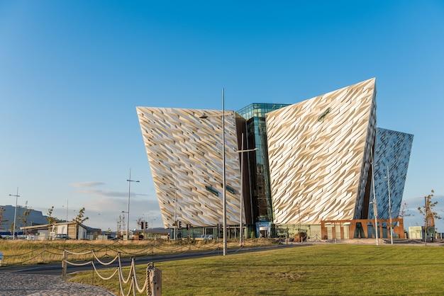 Titanic belfast, northern ireland, uk