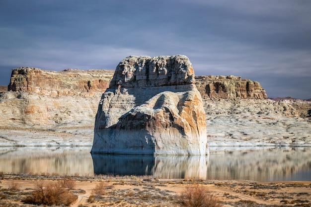Paria rimrocks, 유타, 미국에서 toadstool hoodoos 지역 암석