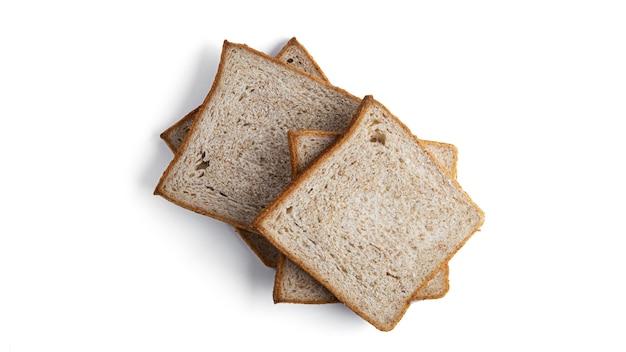 トースト、ふすまパンが分離されました。