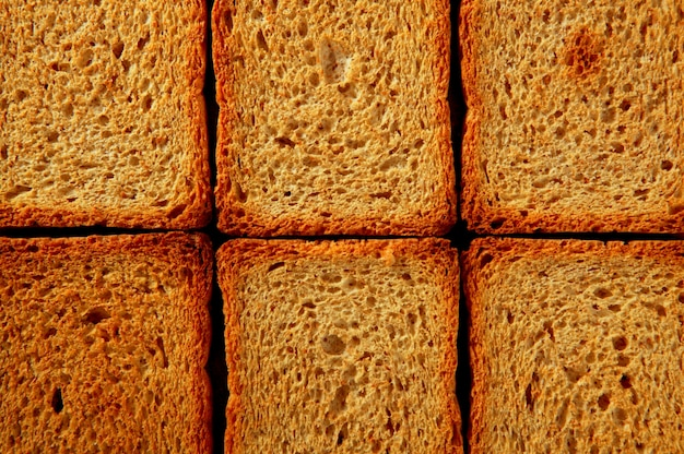Toasted bread slices pattern